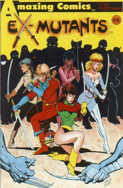 Ex-Mutants Vol 1 1