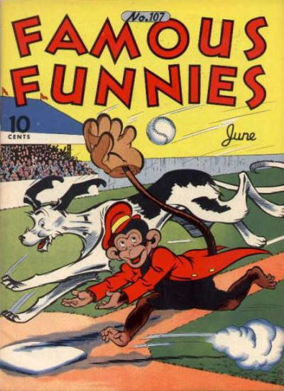 Famous Funnies Vol 1 107