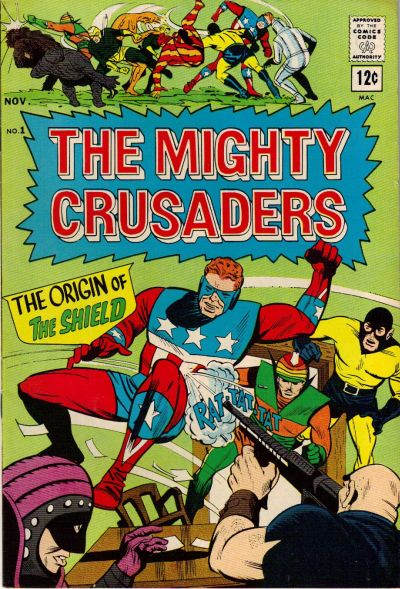 Mighty Crusaders/Covers