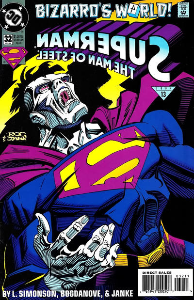 Superman: Man of Steel Vol 1 32