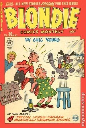 Blondie Comics Vol 1 30