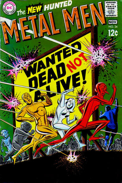 Metal Men Vol 1 34