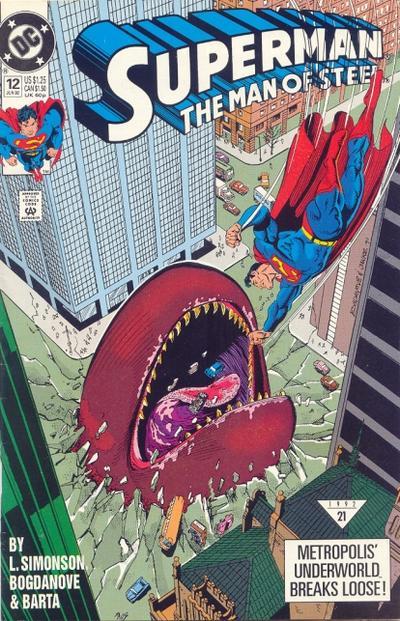 Superman: Man of Steel Vol 1 12