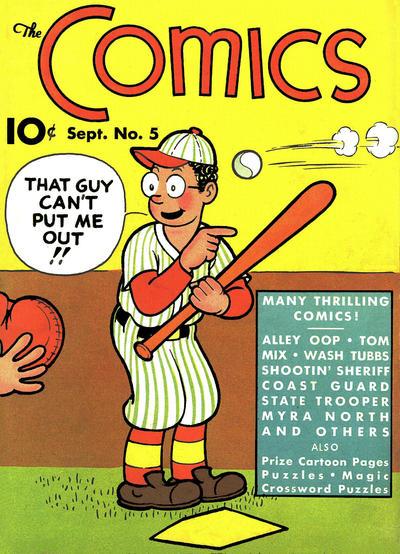 The Comics Vol 1 5