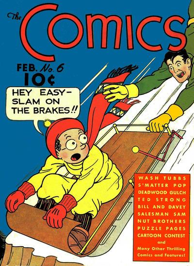 The Comics Vol 1 6
