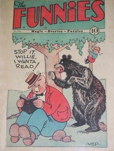 The Funnies Vol 1 9