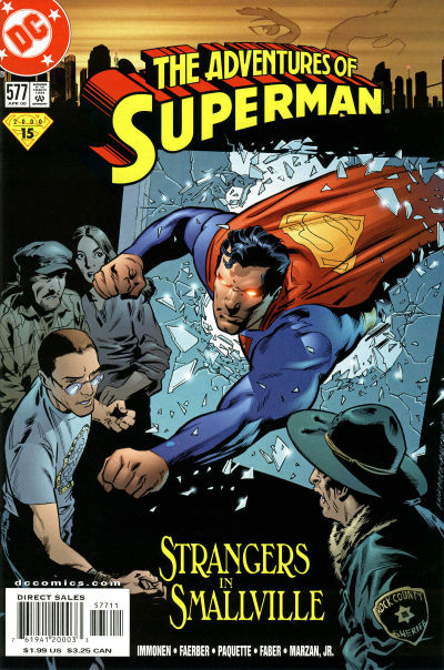 Adventures of Superman Vol 1 577