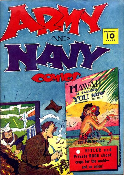 Army and Navy Comics Vol 1 1