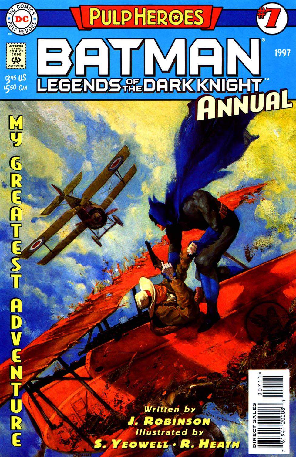 Batman: Legends of the Dark Knight Annual Vol 1 7