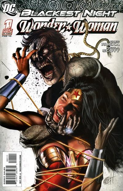 Blackest Night: Wonder Woman/Covers