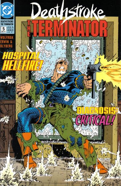 Deathstroke the Terminator Vol 1 5