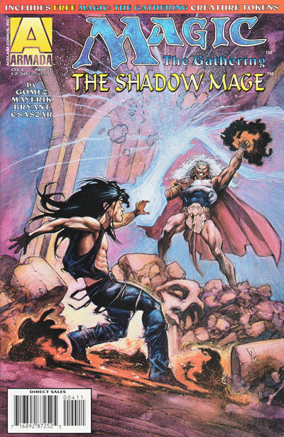 Magic the Gathering: The Shadow Mage Vol 1 4