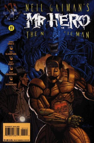Neil Gaiman's Mr. Hero - The Newmatic Man Vol 1 11