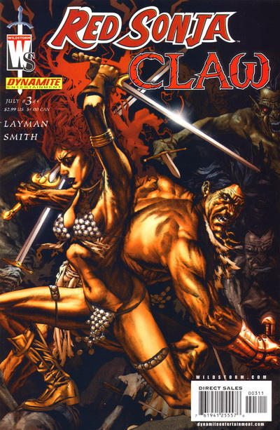 Red Sonja/Claw Vol 1 3