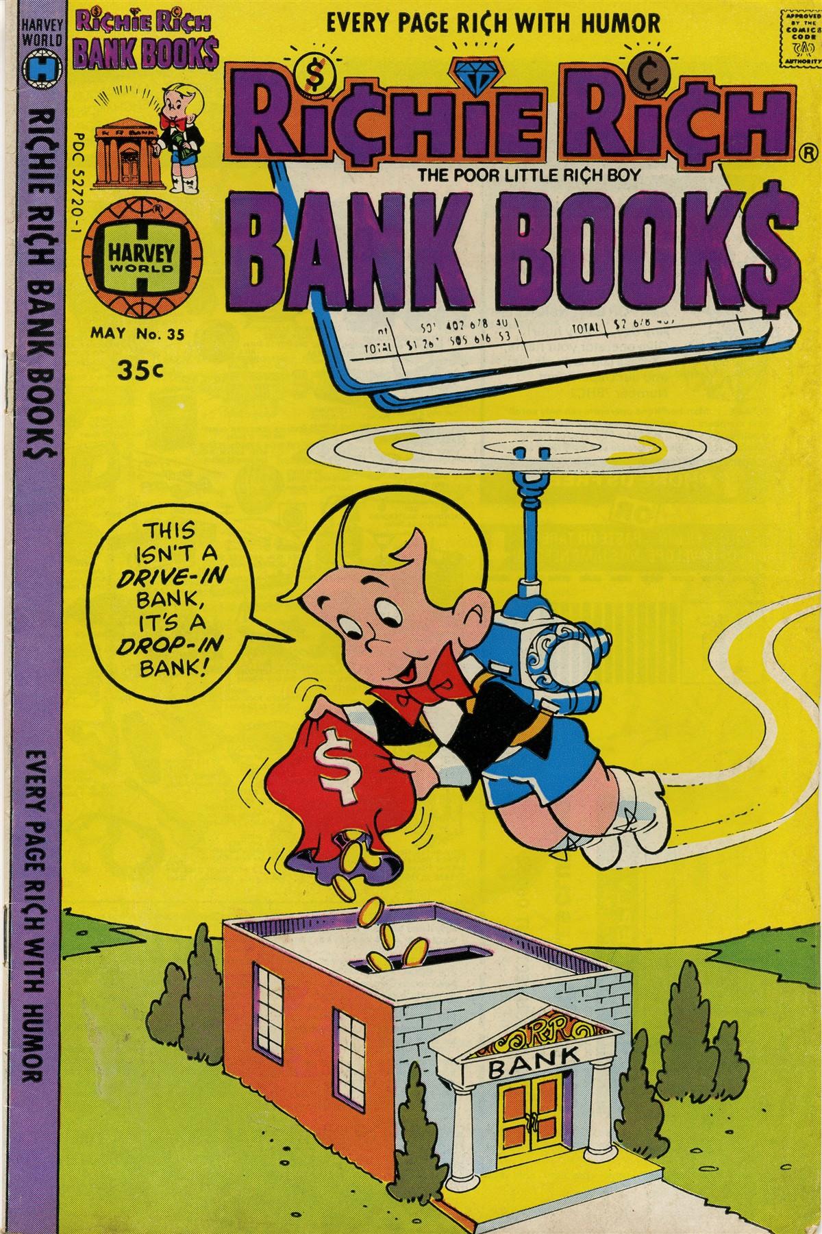 Richie Rich Bank Books Vol 1 35
