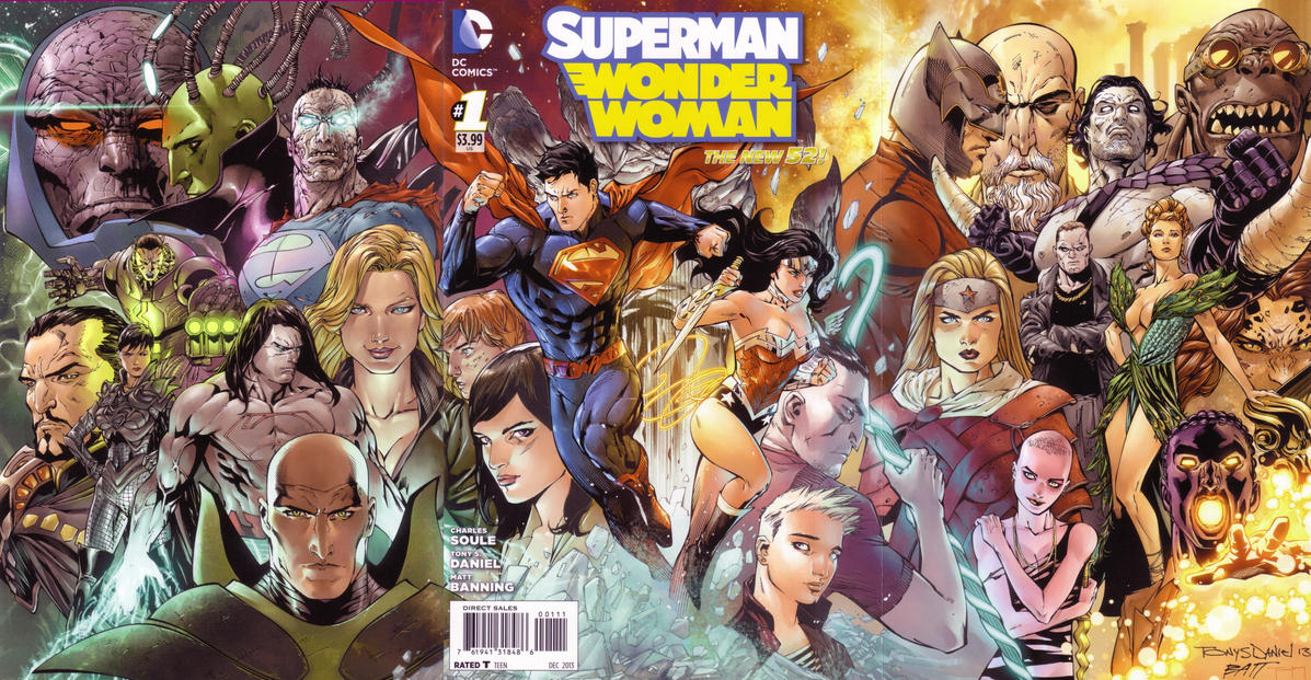 Superman/Wonder Woman Vol 1 1