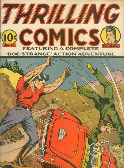 Thrilling Comics Vol 1 12
