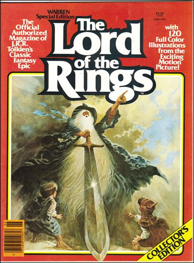 Warren Presents Lord of the Rings Vol 1
