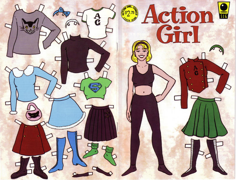 Action Girl Comics Vol 1 9
