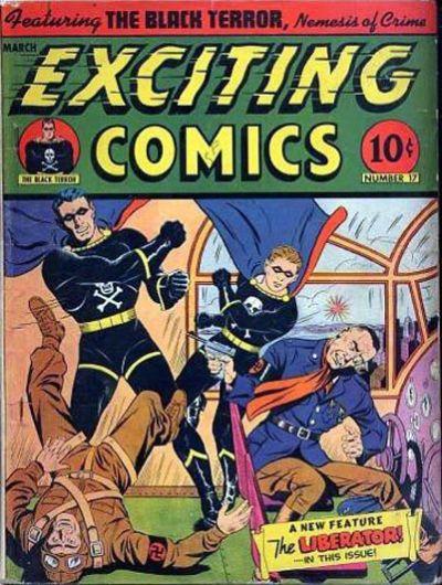 Exciting Comics Vol 1 17