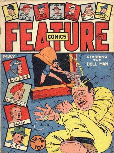 Feature Comics Vol 1 44