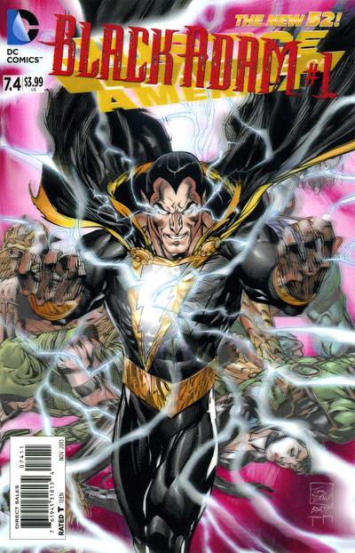 Justice League of America Vol 3 7.4: Black Adam