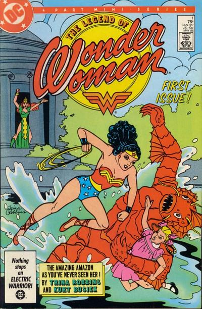 Legend of Wonder Woman Vol 1 1