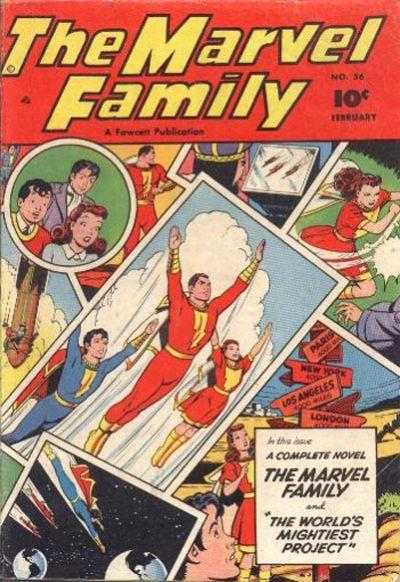 Marvel Family Vol 1 56