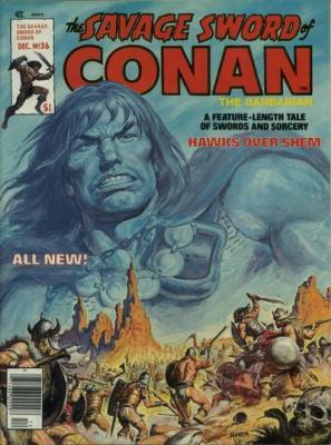 Savage Sword of Conan Vol 1 36