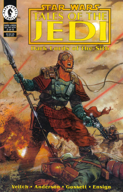 Star Wars: Tales of the Jedi – Dark Lords of the Sith Vol 1 2