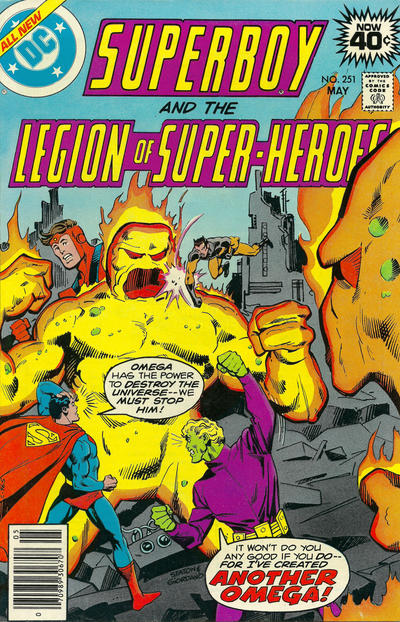 Superboy and the Legion of Super-Heroes Vol 1 251