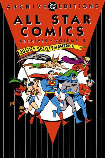 All-Star Comics Archives Vol 1 8