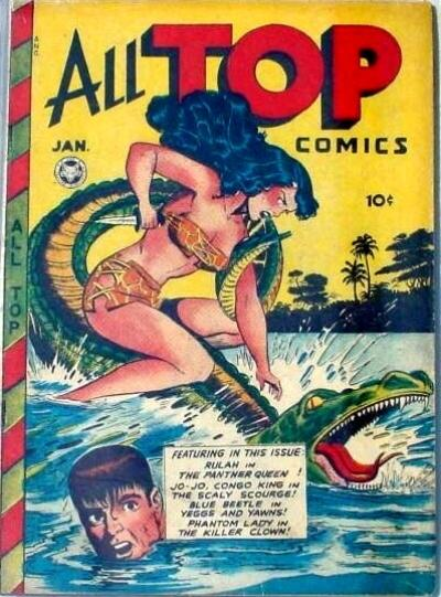 All Top Comics/Covers