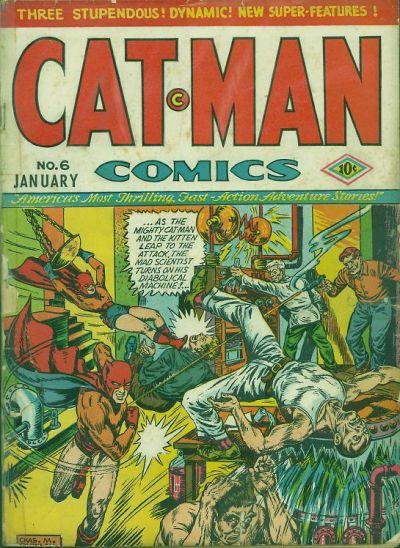 Cat-Man Comics Vol 1 6