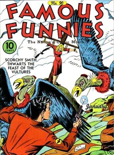 Famous Funnies Vol 1 90