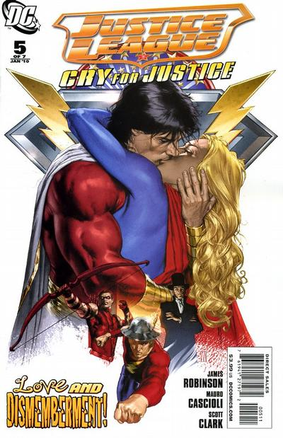 Justice League: Cry for Justice Vol 1 5