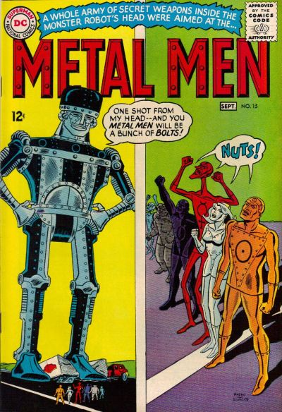 Metal Men Vol 1 15