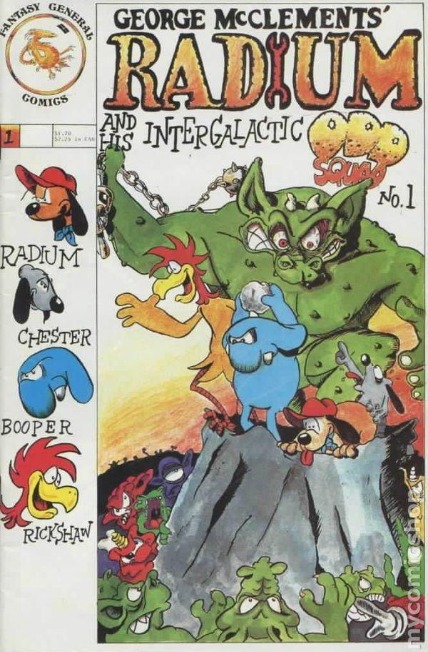 Radium and His Intergalactic Odd Squad Vol 1
