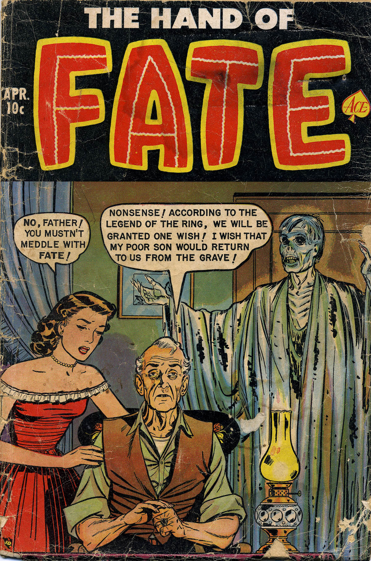 Hand of Fate (1951) Vol 1 10