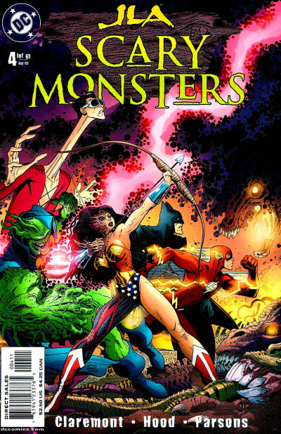 JLA: Scary Monsters Vol 1 4