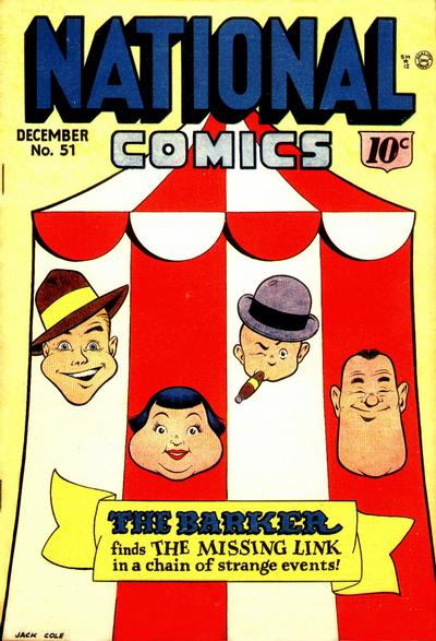 National Comics Vol 1 51