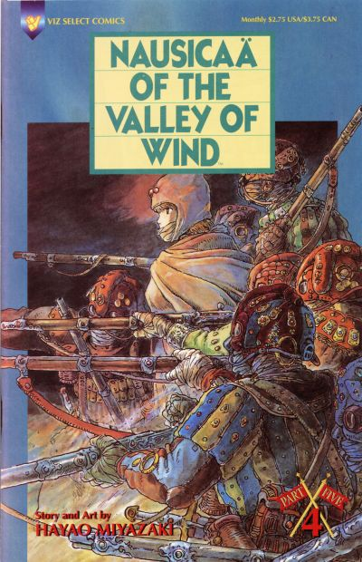 Nausicaa of the Valley of Wind Vol 5 4