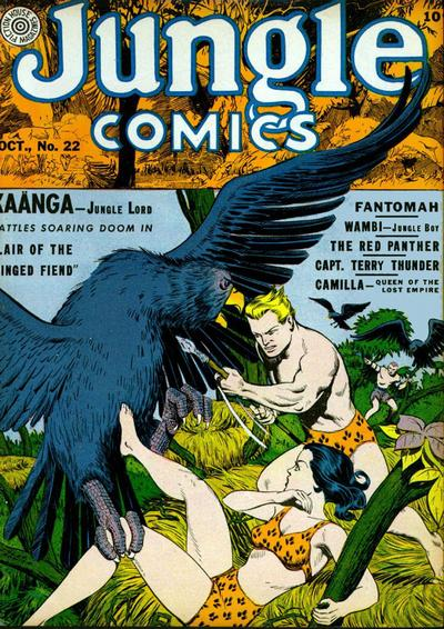Jungle Comics Vol 1 22