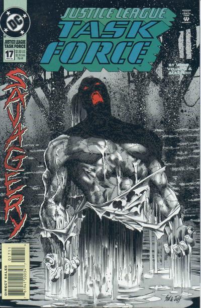 Justice League Task Force Vol 1 17