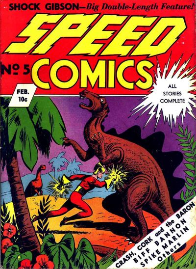 Speed Comics Vol 1 5