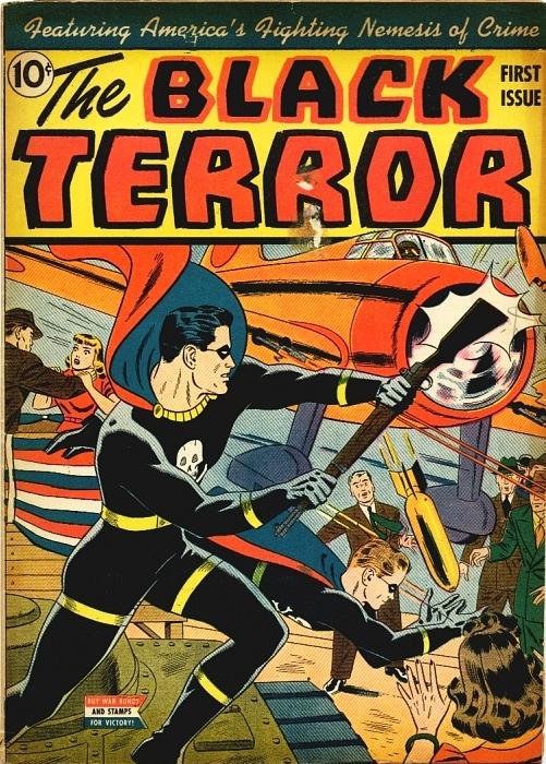 Black Terror Vol 1 1