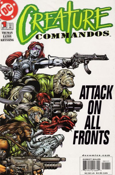 Creature Commandos/Covers