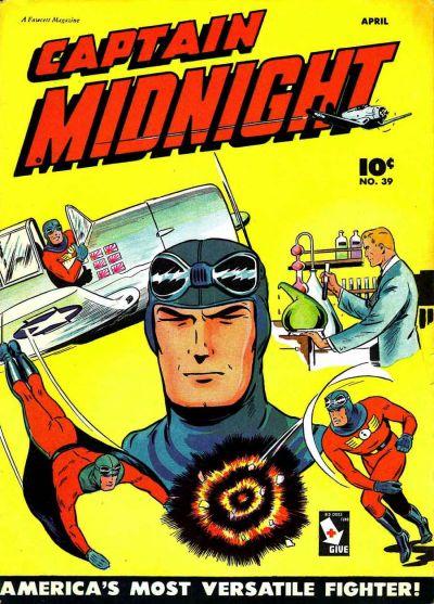 Captain Midnight Vol 1 39