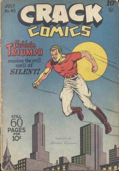 Crack Comics Vol 1 43