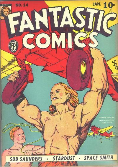 Fantastic Comics Vol 1 14